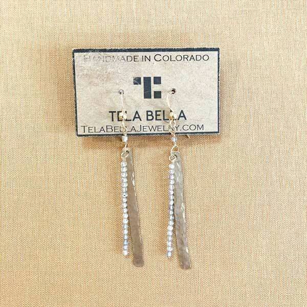 Labradorite Layered Earrings