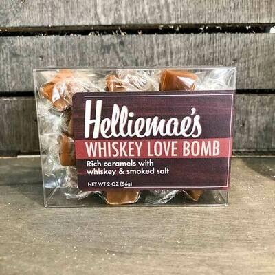 Whiskey Love Bomb Caramels 2 Oz