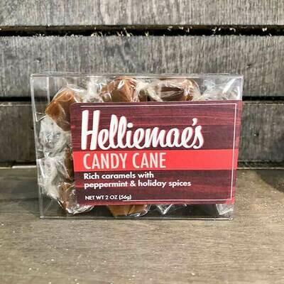 Candy Cane Caramels 2 Oz.
