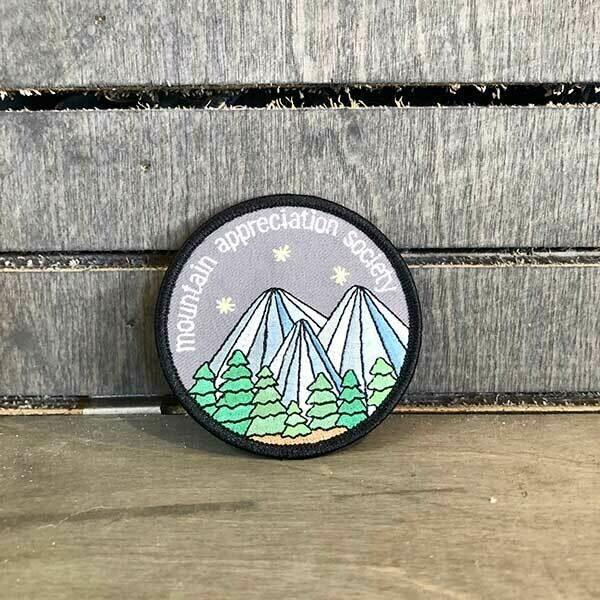 Mountain Appreciation Society Patch
