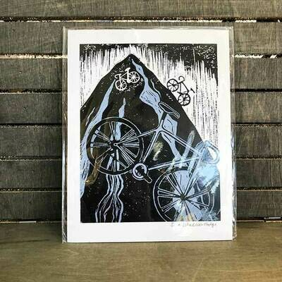 Mountain Bikes Archival Print