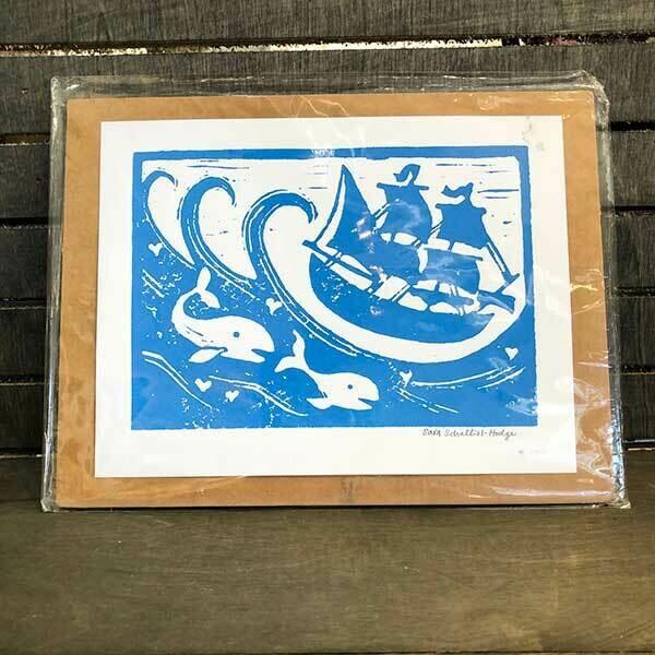 Ahoy! Original Print