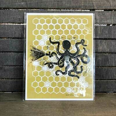 Octopus Love Search Archival Print