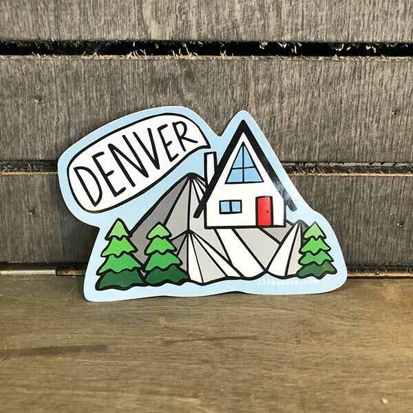 Denver House Sticker