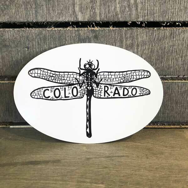 CO Dragonfly Sticker