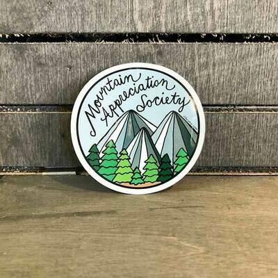 Mtn Appreciation Society Sticker