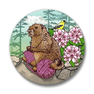 Marmot Pin