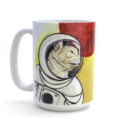 Curiosity Cat Mug