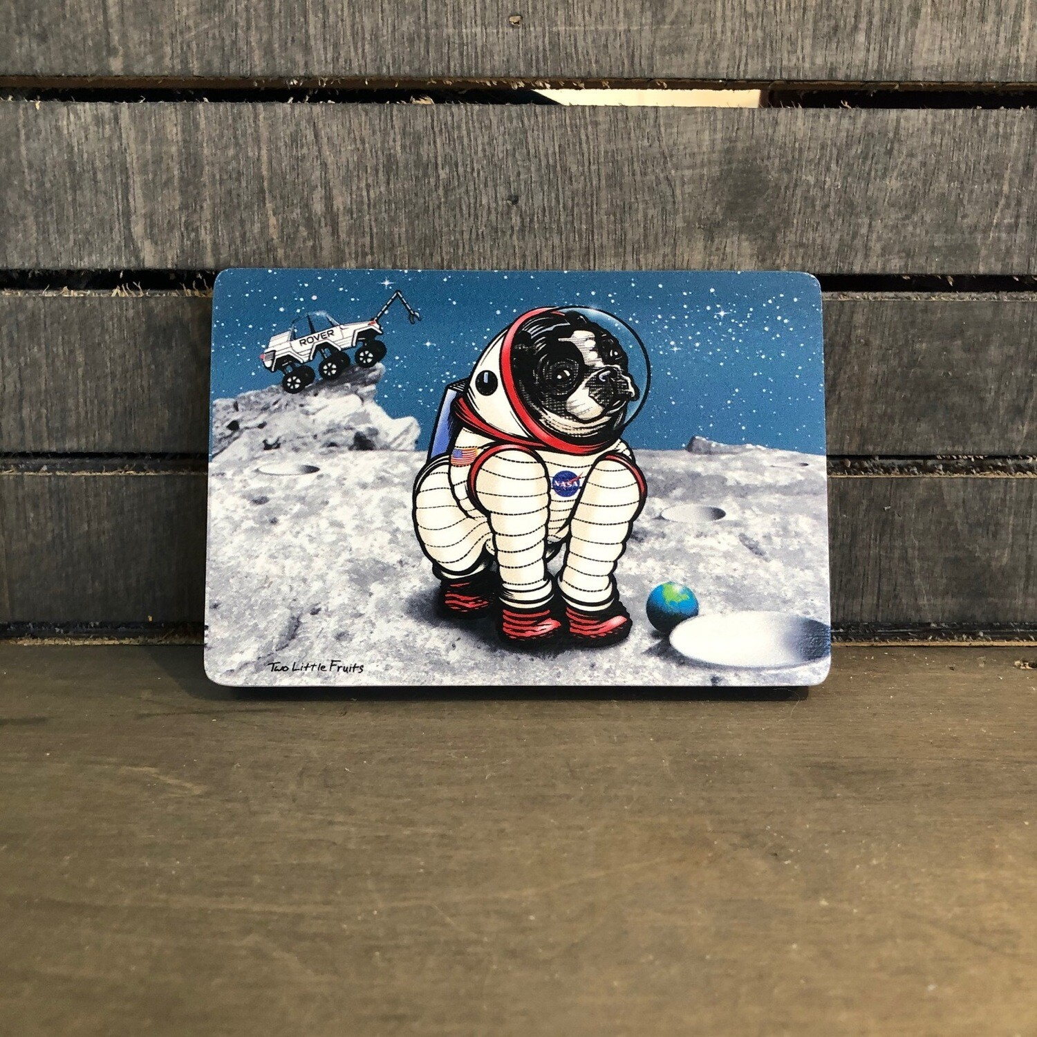 Rover The Space Dog Block 4x6