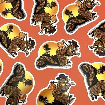 Happy Trails Sticker