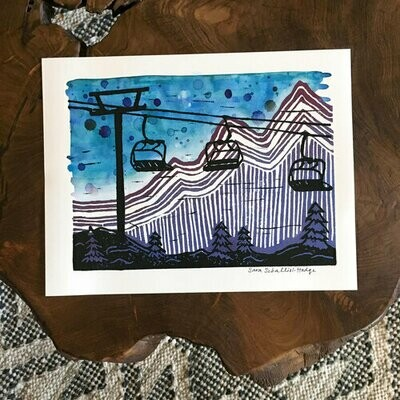 Cable Lift Archival Print