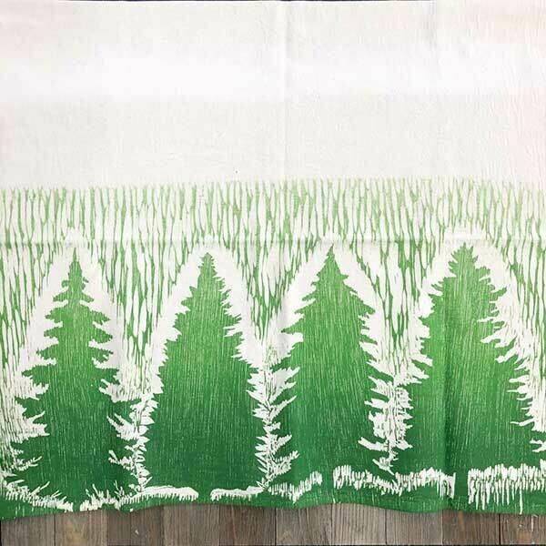 Spruce Tree Dish Cloth
