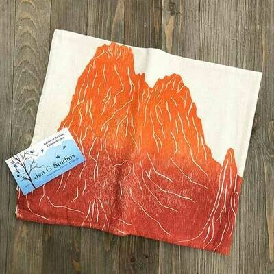 Cathedral Spires (Garden of the Gods) Dish Cloth