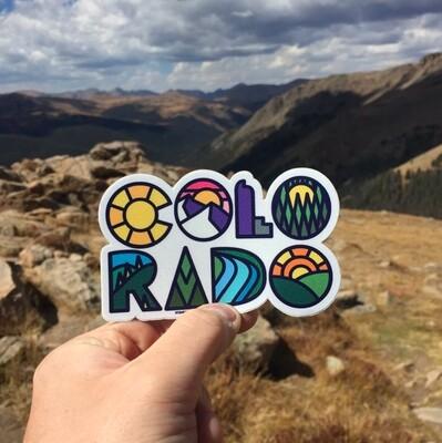 COLO-RADO Sticker