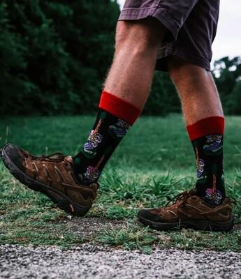 M202 Guitar Men's Sock