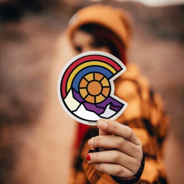 Colorado C Sticker