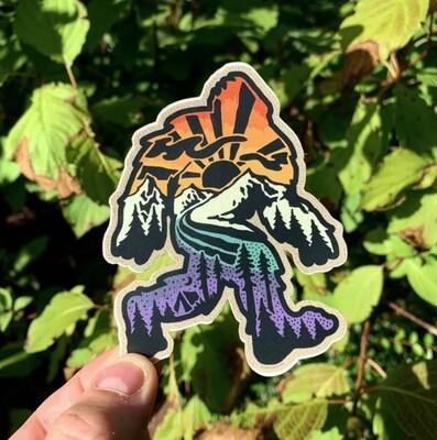 Sasquatch Sticker