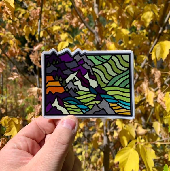 Colorado State Sticker