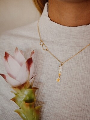 Cockatoo Heart Necklace