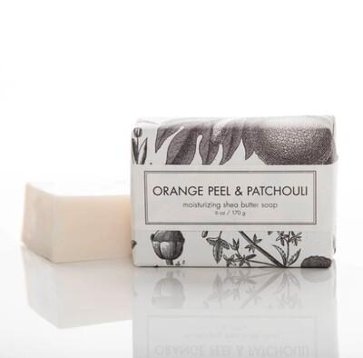 Orange Peel & Patchouli Bath Bar