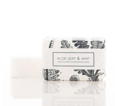 Aloe Leaf & Mint Bath Bar