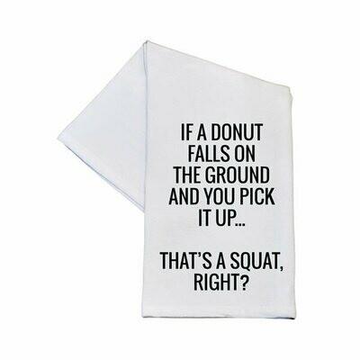 That's a Squat Tea Towel