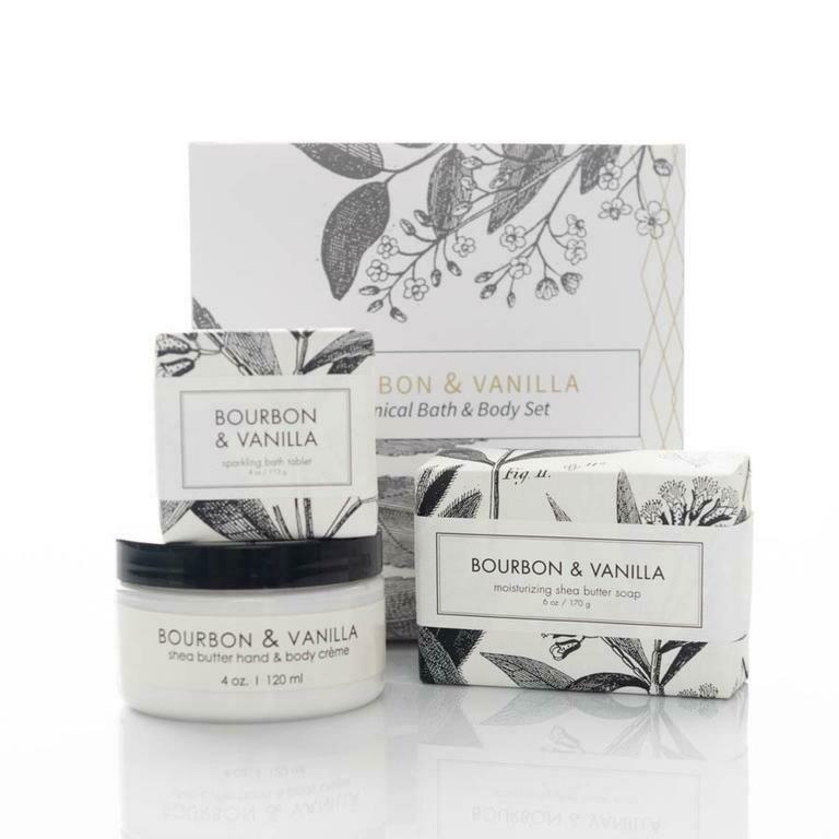 Bourbon & Vanilla Botanical Set