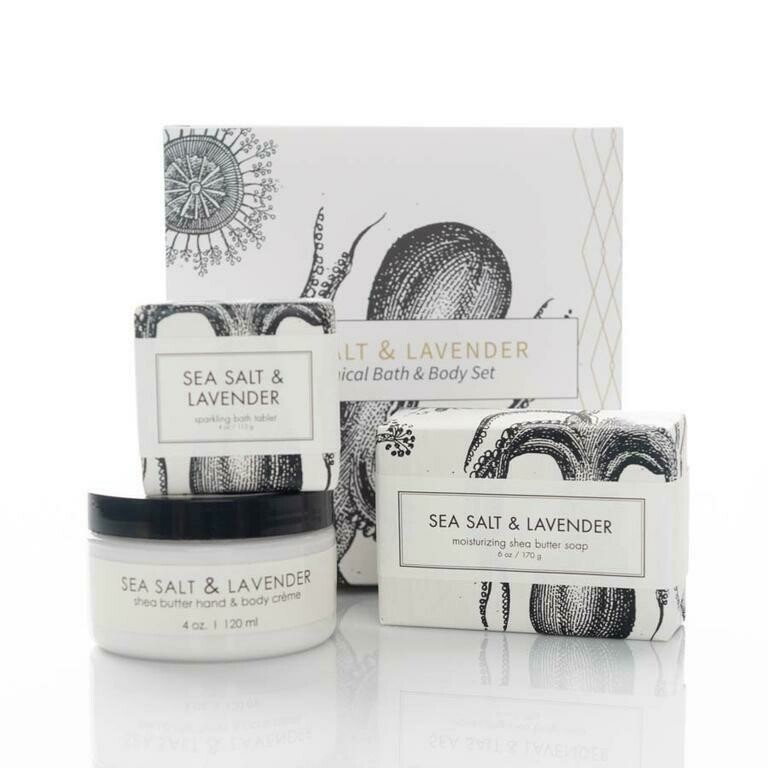 Sea Salt & Lavender Botanical Set