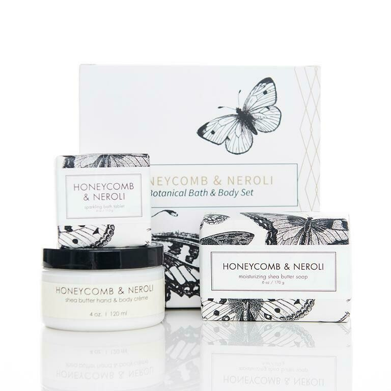 Honeycomb & Neroli Botanical Set