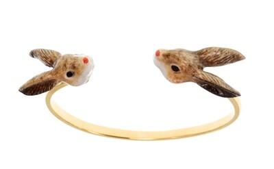 Rabbit Cuff Bracelet