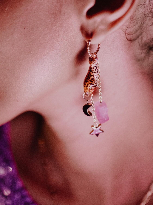 NE Amethyst Earrings