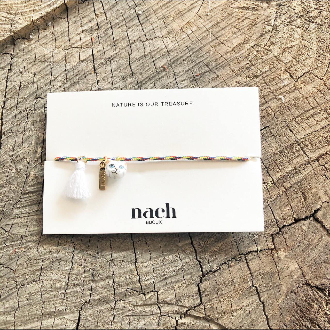Grey Cat Tassel Bracelet