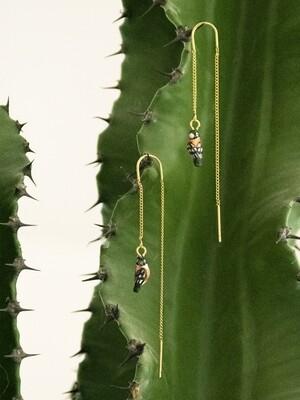 Bird Thread Earrings
