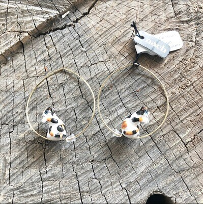 Calico Cat Hoops