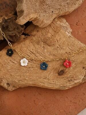 Mini Flowers Necklace