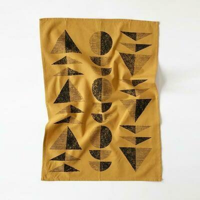 Miro Towel -  Ochre