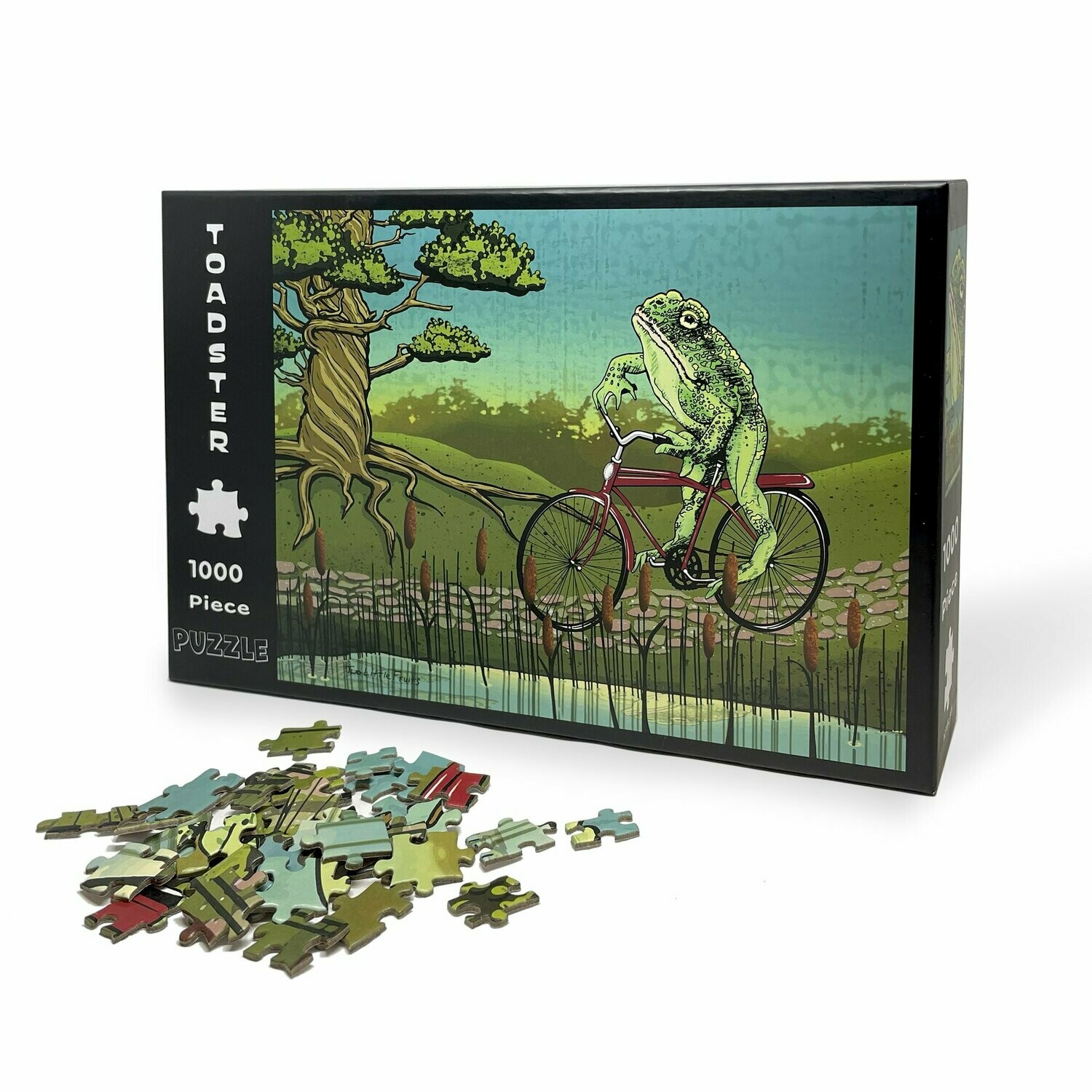 Frog on a Bike Puzzle