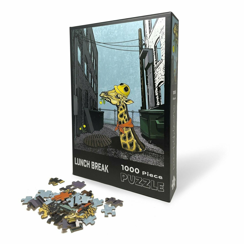 Lunch Break Giraffe Puzzle