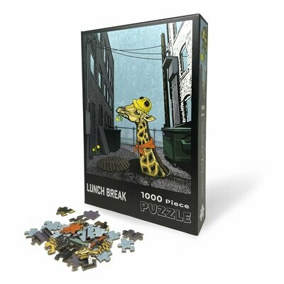 Lunch Break Giraffe Puzzle