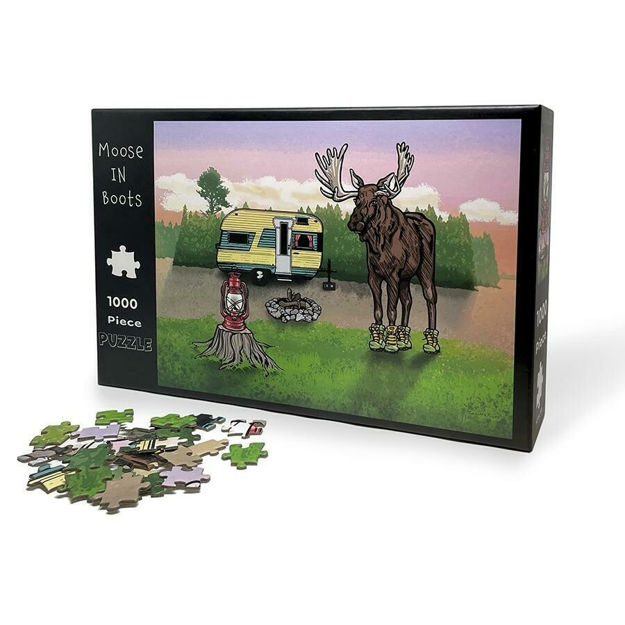 Moose In Boots Puzzle