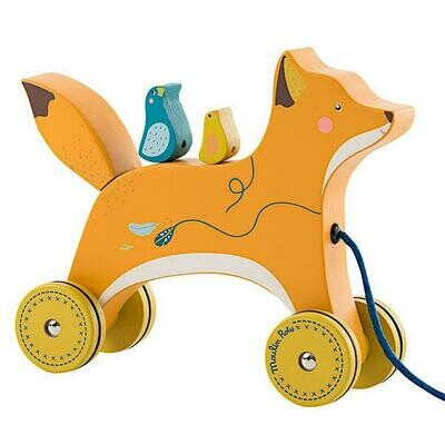 Pull Along Fox Toy