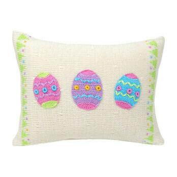 Easter Egg Pillow, 8x11
