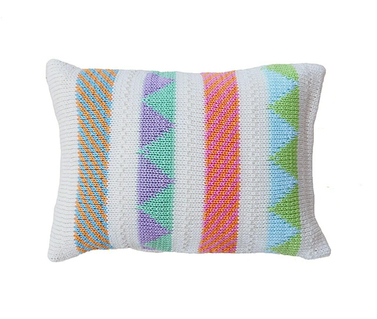 Mini Multi Stripe Pillow