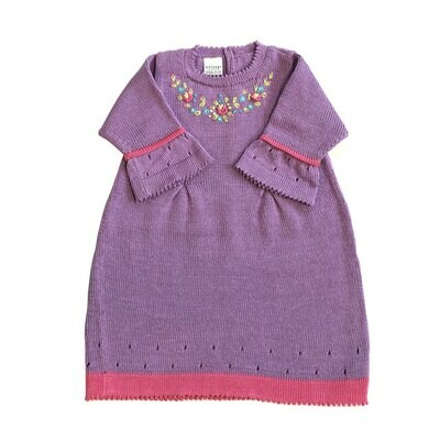 Lilac Easter Dress, 12mon