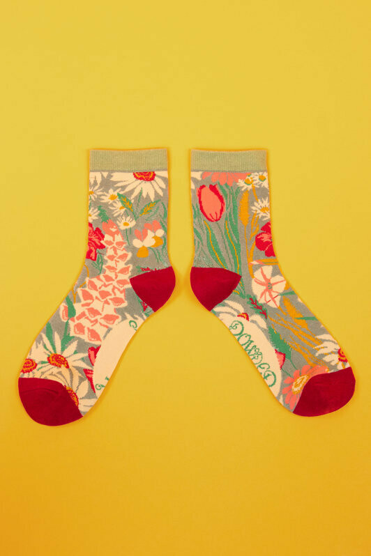 Ladies Ankle Country Garden Socks