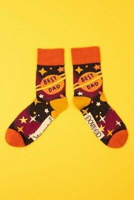 Men's Best Dad Socks