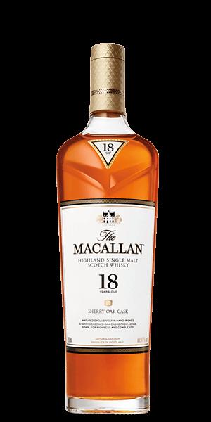 The Macallan Sherry Oak 18 Year Old