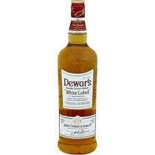 Dewars White Label Scotch Whiskey 750ml