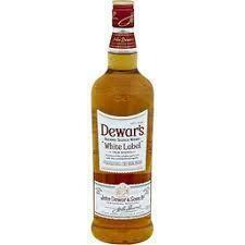 Dewars White Label Scotch Whiskey 750ml