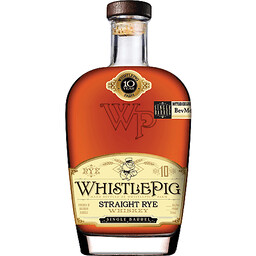 WhistlePig 10 Year Straigh Rye Whiskey